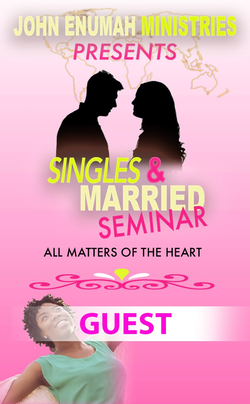 Single and Married Seminar: All Matters of the Heart